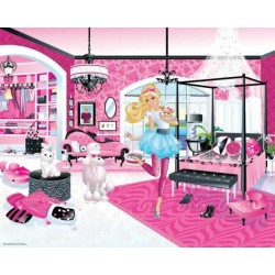 Walltastic Barbie Mural
