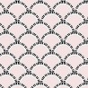 Jazz Age Pink Wallpaper