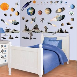 Space Adventure Room Décor Kit