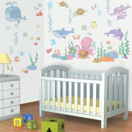 Baby Under the Sea Room Décor Kit