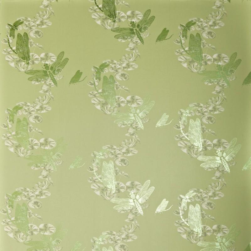 Dragonfly Apple Green Wallpaper, Barneby Gates Wallpaper ...