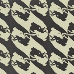 The Dogs Charcoal Wallpaper