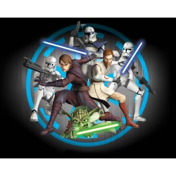 Walltastic Star Wars Clone Wars