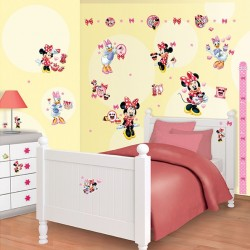 Walltastic Disney Minnie Mouse Room Décor Kit