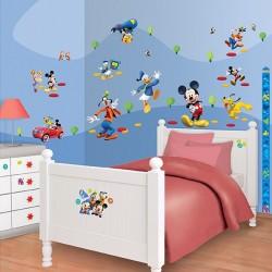 Walltastic Disney Mickey Mouse Clubhouse Room Décor Kit