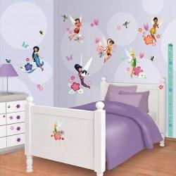Walltastic Disney Fairies Room Décor Kit