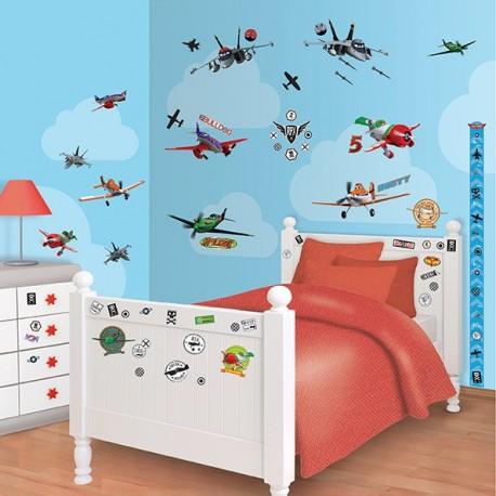 Walltastic Disney Planes Room Décor Kit