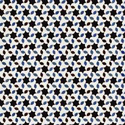 Tarifa Black and White Tile Wallpaper