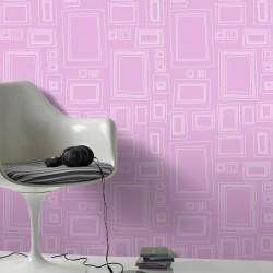 Frames Pink Wallpaper