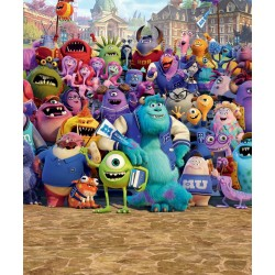 Walltastic Disney Monsters University Mural