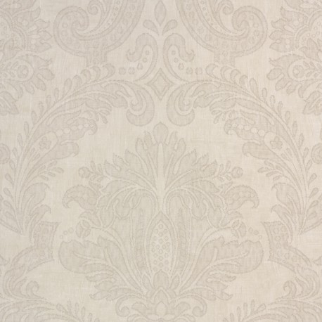 Equus Cream Ivory Wallpaper