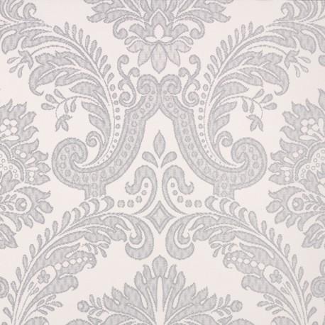 Equus White & Grey Wallpaper