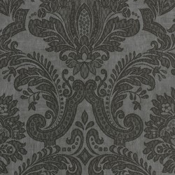 Equus Black on Dark Grey Wallpaper