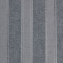 Noa Silver & Midnight Blue Wallpaper