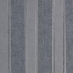 Noa Silver & Midnight Blue Wallpaper