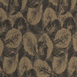 Glace Golden Bronze & Brown Wallpaper