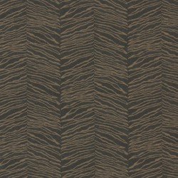 Esqueje Zebra Black & Golden Bronze Wallpaper