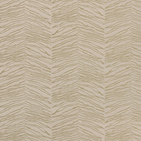 Esqueje Zebra Gold & Cream Wallpaper