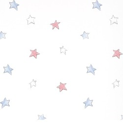 Odissey Stars Red Wallpaper