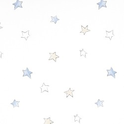 Odissey Stars Sky Blue Wallpaper