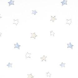 Odissey Stars Sky Blue Wallpaper