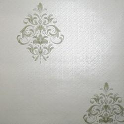 Clemency Soft Green Wallpaper