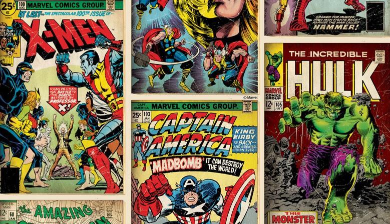 Marvel-ous... Vintage Comic Heroes.